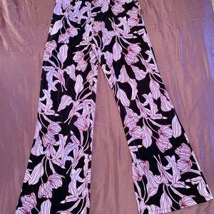 Joan Vass Bell-Bottom Pants, S
